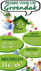 groendak subsidie